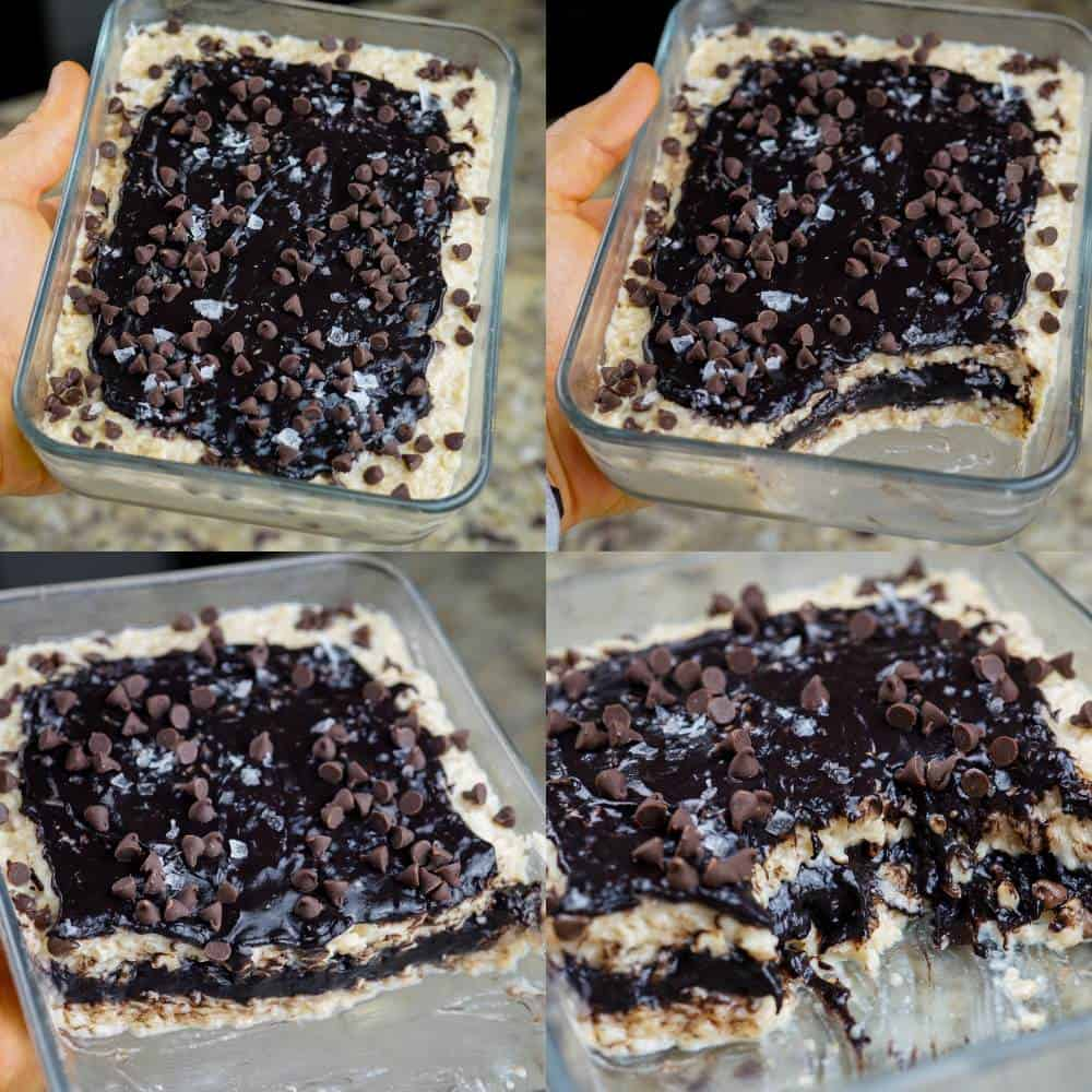 Dark Chocolate Sea Salt Protein Pop Tart Oatmeal
